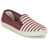 Victoria  SLIP ON RAYAS/REJILLA  men's Slip-ons (Shoes) in Red