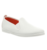 Flossy Madrid Flossy Pump WHITE LEATHER