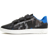 Björn Borg  - T330 Low Cam - Black Multi  men's Shoes (Trainers) in Black