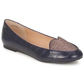 Chocolate Schubar  CLARICE  women's Shoes (Pumps / Ballerinas) in Blue