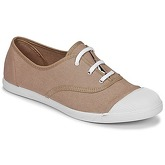 Yurban  APOLINIA  women's Shoes (Trainers) in Brown