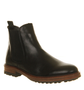 Office Ambassador Chelsea boots BLACK LEATHER