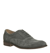 Ask the Missus Heat Oxford GREY SUEDE