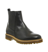 Office Careless Chelsea Boot BLACK LEATHER