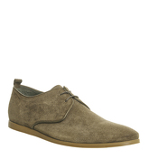 Ask the Missus Eastside Lace Shoe KHAKI SUEDE