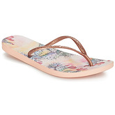 Reef  REEF ESCAPE LUX PRINT  women's Flip flops / Sandals (Shoes) in Gold