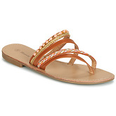 Moony Mood  JAIJAI  women's Flip flops / Sandals (Shoes) in Brown