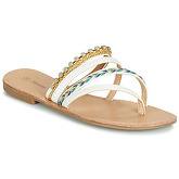 Moony Mood  JAIJAI  women's Flip flops / Sandals (Shoes) in White