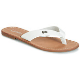 LPB Shoes  PRISKA  women's Flip flops / Sandals (Shoes) in White