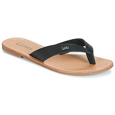LPB Shoes  PRISKA  women's Flip flops / Sandals (Shoes) in Black