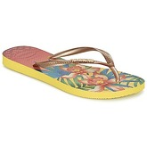 Havaianas  SLIM TROPICAL  women's Flip flops / Sandals (Shoes) in Yellow