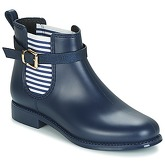 Be Only  HASTINGS  women's Wellington Boots in Blue