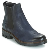 Dream in Green  FENOULLIA  women's Mid Boots in Blue