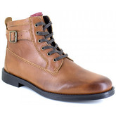 J.bradford  Low Boots  Cognac Leather JB-VARS  women's Low Boots in multicolour