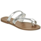LPB Shoes  TEXANE  women's Flip flops / Sandals (Shoes) in Silver