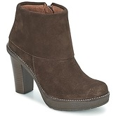 Casual Attitude  EDUKALI  women's Low Ankle Boots in Brown