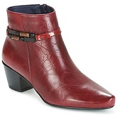 Dorking  TRIANA  women's Low Ankle Boots in Red