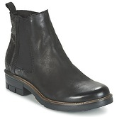 Dream in Green  FENOULLIA  women's Mid Boots in Black