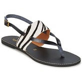 Chocolate Schubar  ECHO  women's Sandals in Black