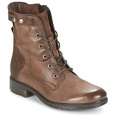 Dream in Green  ERVANE  women's Mid Boots in Brown