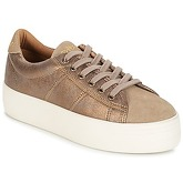 No Name  PLATO SNEAKER  women's Shoes (Trainers) in Beige