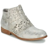 Dream in Green  IRVANOU  women's Mid Boots in Silver