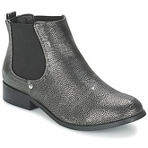 Moony Mood  HELMA  women's Mid Boots in Silver