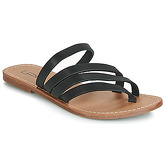 LPB Shoes  ROXANNE  women's Flip flops / Sandals (Shoes) in Black