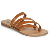LPB Shoes  ROXANNE  women's Flip flops / Sandals (Shoes) in Brown