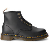 Dr Martens  101 black vegan leather ankle boots  men's Mid Boots in Black