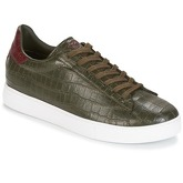 Armani jeans  GOLRI  men's Shoes (Trainers) in Green