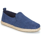 Toms  DECONSTRUCTED ALPARGATA ROPE  men's Espadrilles / Casual Shoes in Blue