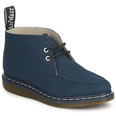 Dr Martens  WEDGE GRADY MOCC TOE CHUKKA BOOT  men's Low Ankle Boots in Blue