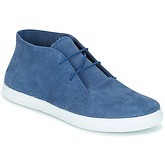 Yurban  GIVATE  men's Shoes (High-top Trainers) in Blue