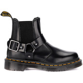 Dr Martens  Wincox black leather ankle boots with buckle  men's Mid Boots in Black
