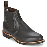 Red Wing  CHELSEA RANCHER  men's Low Ankle Boots in Black
