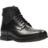 Clarks  London Pace GTX Mens Leather Lace-Up Ankle Boot  men's Mid Boots in Black