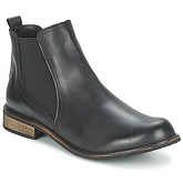 So Size  MODESSA  women's Mid Boots in Black