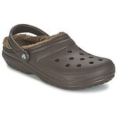 Crocs  CLASSIC LINED CLOG  men's Clogs (Shoes) in Brown