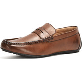 Reservoir Shoes  Moccasin with square toe  men's Loafers / Casual Shoes in Brown