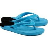 Quiksilver  Molokai New Wave Youth  women's Flip flops / Sandals (Shoes) in Blue