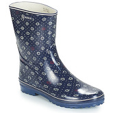 Aigle  VENISE BOTT PRT  women's Wellington Boots in Blue