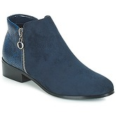 Moony Mood  JADE  women's Mid Boots in Blue