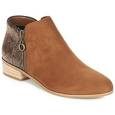 Moony Mood  JADE  women's Mid Boots in Brown