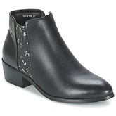 Moony Mood  PAPILLOTTE  women's Mid Boots in Black