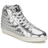 American College  SILVER  women's Shoes (High-top Trainers) in Silver