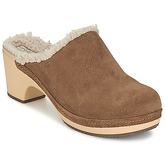 Crocs  SARAH LINED CLOG  women's Clogs (Shoes) in Brown