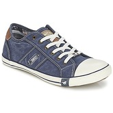 Mustang  TIRON  men's Shoes (Trainers) in Blue
