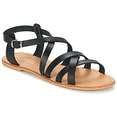 So Size  GOPPO  women's Sandals in Black