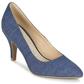 Moony Mood  GUOTINE  women's Court Shoes in Blue